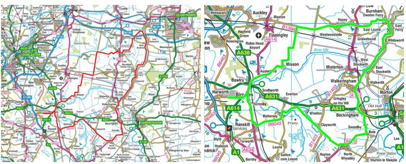 Image of route maps